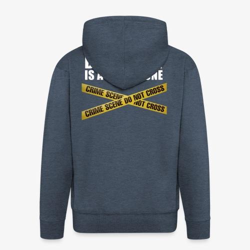 DEMOCRACY IS A NO-GO ZONE - Veste à capuche Premium Homme