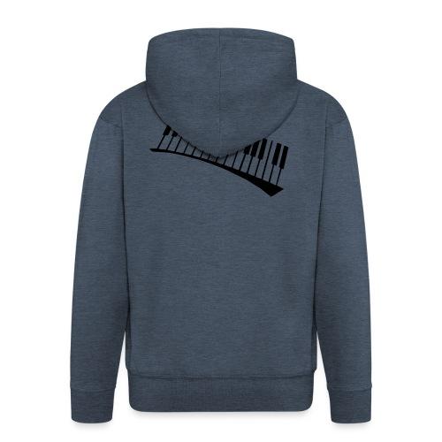 Piano - Chaqueta con capucha premium hombre
