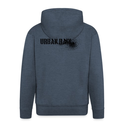 urban rain logo - Männer Premium Kapuzenjacke