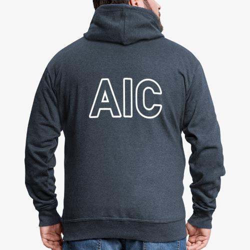 AIC_140%_Vektor_Outline_W - Männer Premium Kapuzenjacke