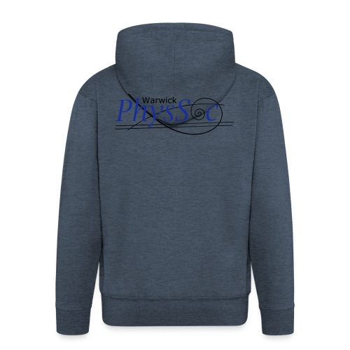 Official Warwick PhysSoc T Shirt - Men's Premium Hooded Jacket