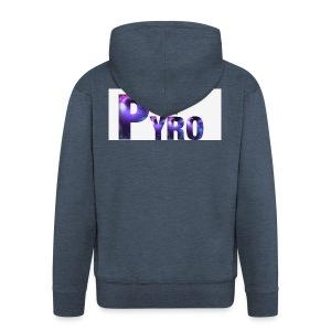Keep Calm Pyro-Shirt - Mannenjack Premium met capuchon