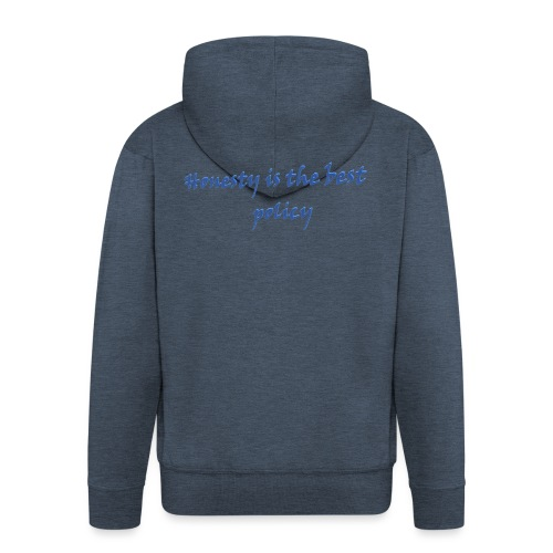 Proverbs in English - Men's Premium Hooded Jacket