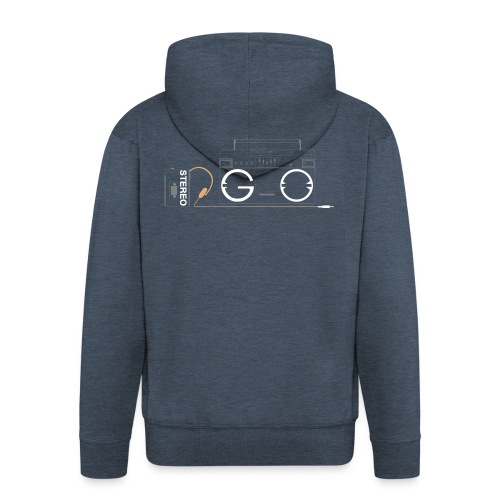 Design S2G new logo - Men's Premium Hooded Jacket