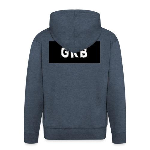gekke boys shirt - Mannenjack Premium met capuchon