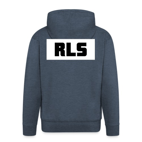 RLS t-shirt Black&White - Mannenjack Premium met capuchon