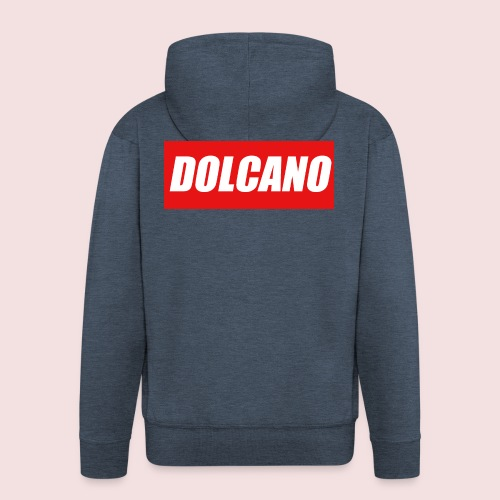 DOLCANO Box Logo Short Sleeved T-Shirt. - Men's Premium Hooded Jacket