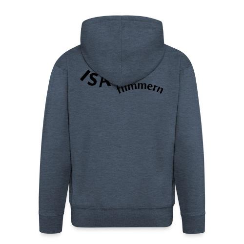 Isar_flimmern - Männer Premium Kapuzenjacke