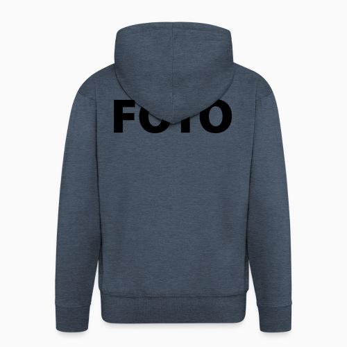 FOTO (Vitt tryck) - Premium-Luvjacka herr