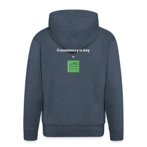 Consistency - Men's Premium Hooded Jacket