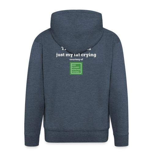 SRPT Fat Crying - Men's Premium Hooded Jacket