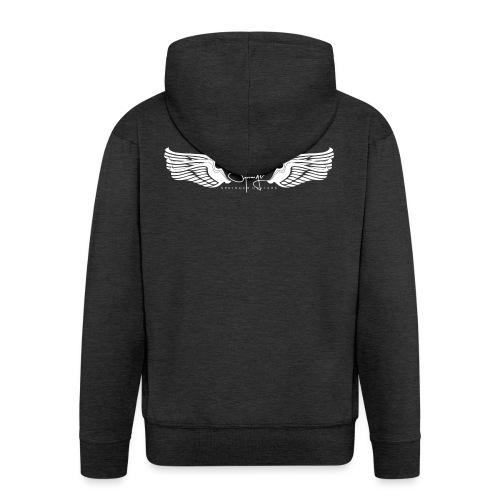 Seraph Wings white - Veste à capuche Premium Homme