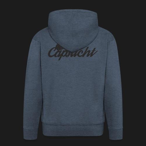 capsucht logo schwarz - Männer Premium Kapuzenjacke
