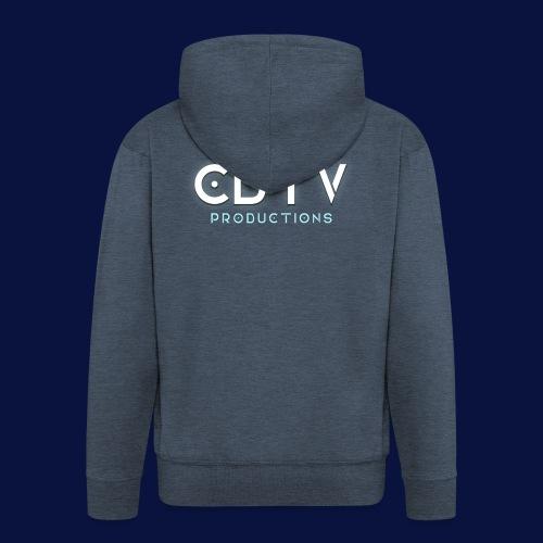 Full CDTVProductions Logo - Men's Premium Hooded Jacket
