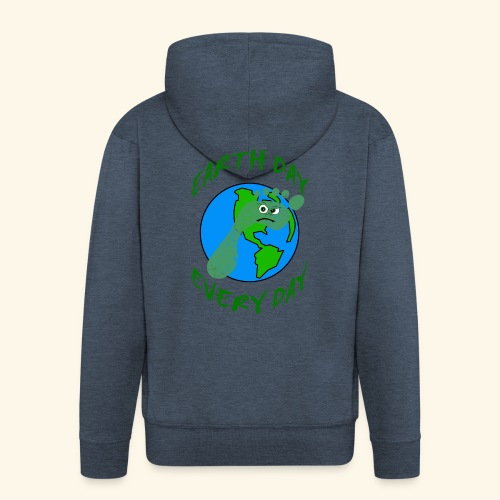 Earth Day Every Day - Männer Premium Kapuzenjacke