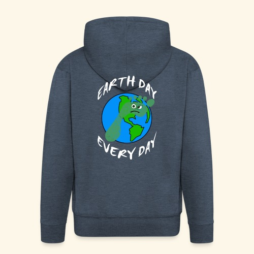 Earth Day Every Day - Männer Premium Kapuzenjacke