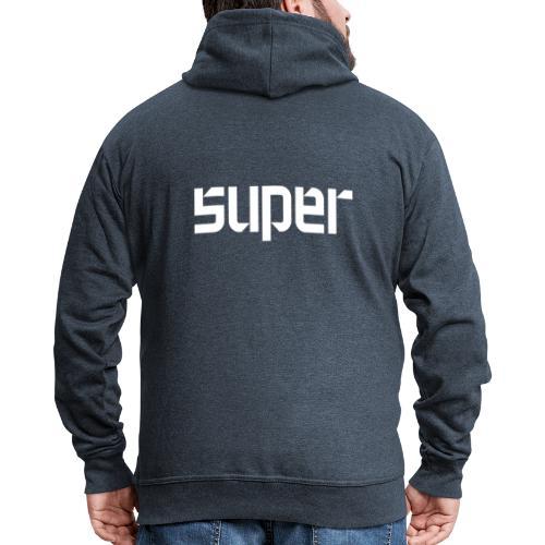 super - Männer Premium Kapuzenjacke