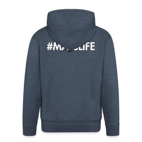 #MALSLIFE vrouwen - zwart - Mannenjack Premium met capuchon