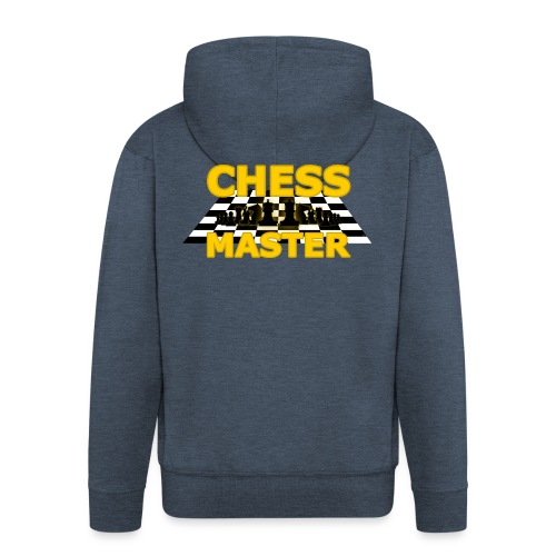 Chess Master - Black Version - By SBDesigns - Men's Premium Hooded Jacket