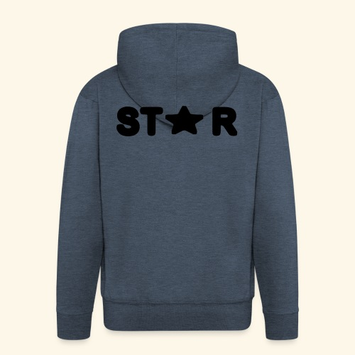 Star of Stars - Men's Premium Hooded Jacket