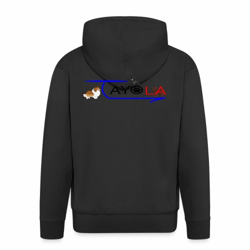 Tayola Black - Veste à capuche Premium Homme