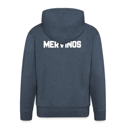 MerVinos - Mannenjack Premium met capuchon