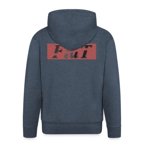 FlaT - Rozpinana bluza męska z kapturem Premium