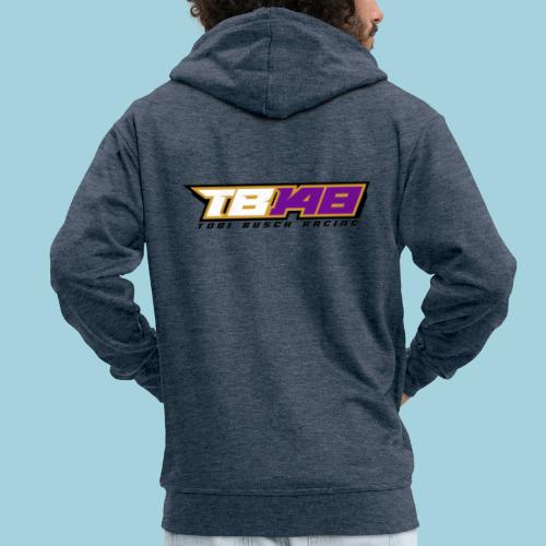 Tobi Logo schwarz - Männer Premium Kapuzenjacke