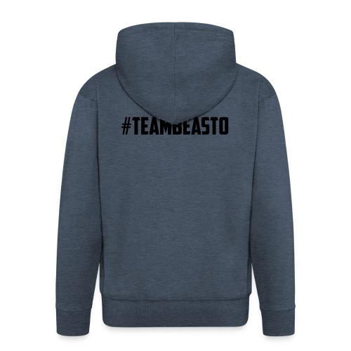 #TeamBeasto Black Best Sellers - Men's Premium Hooded Jacket