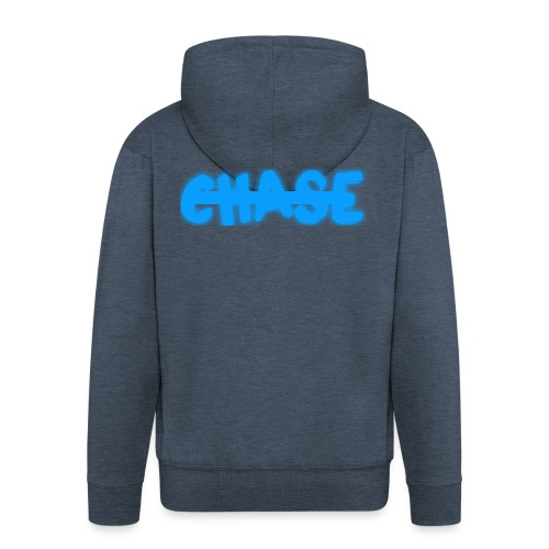 big_chase_bl - Men's Premium Hooded Jacket