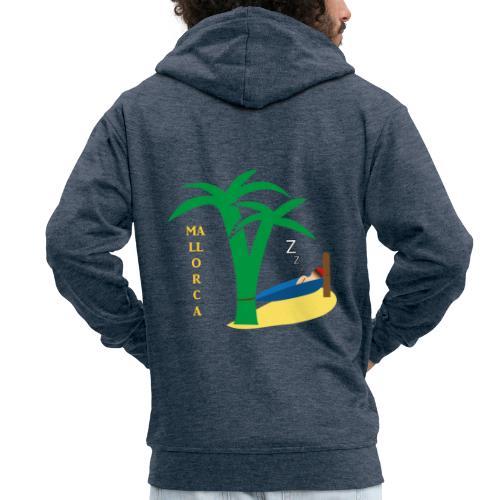 Mallorca - Urlaub unter Palmen - Männer Premium Kapuzenjacke