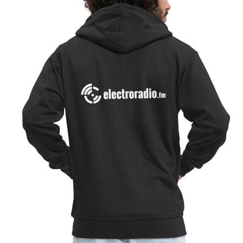 electroradio.fm - Men's Premium Hooded Jacket