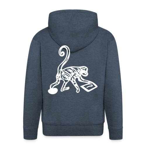 Monkey Puzzle - Men's Premium Hooded Jacket