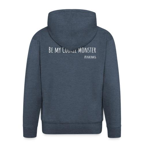 CookieMonsterWhite - Männer Premium Kapuzenjacke