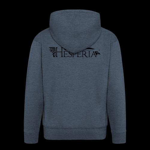 HESPERIA logo 2016 - Men's Premium Hooded Jacket