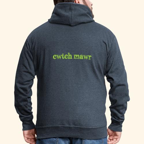 cwtchmawr1 - Men's Premium Hooded Jacket