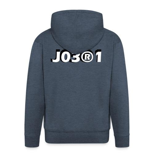 J03®1 - Mannenjack Premium met capuchon