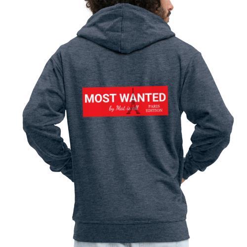 MOST Wanted - PARIS EDITION (Simple) - Veste à capuche Premium Homme