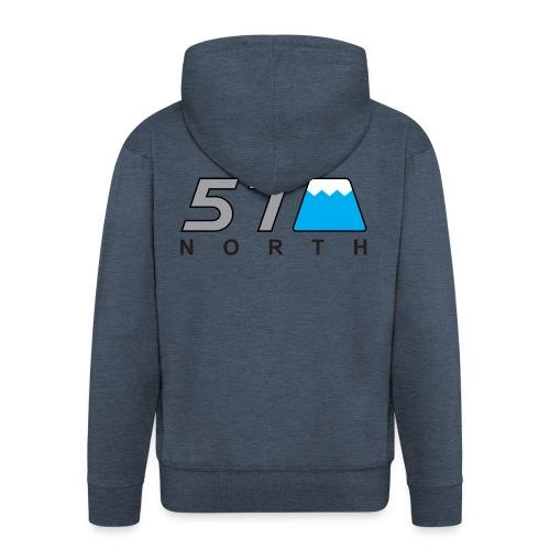 57 North - Men's Premium Hooded Jacket