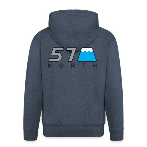 57 North - Men's Premium Hooded Jacket