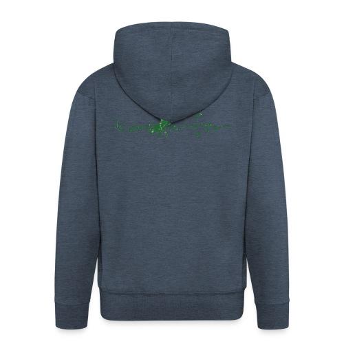 taosurfer_washed_darkgreen - Männer Premium Kapuzenjacke
