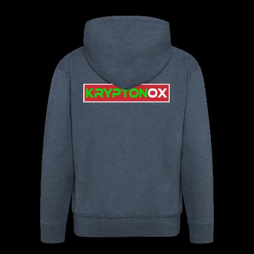 Kryptonox Logo - Men's Premium Hooded Jacket
