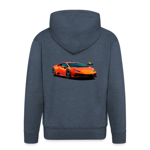 Luxurious car - Men's Premium Hooded Jacket
