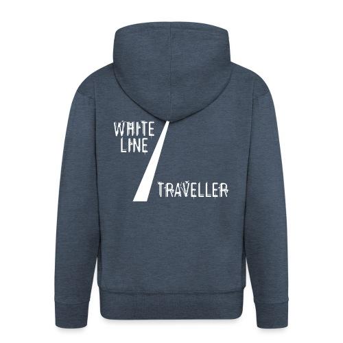 white line traveller - Mannenjack Premium met capuchon