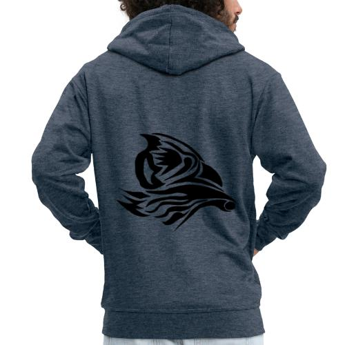 Aigle Abstrait - Veste à capuche Premium Homme