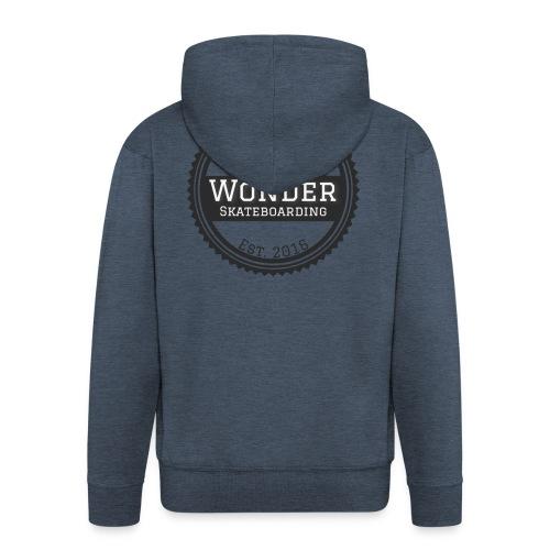 Wonder Longsleeve - round logo - Herre premium hættejakke