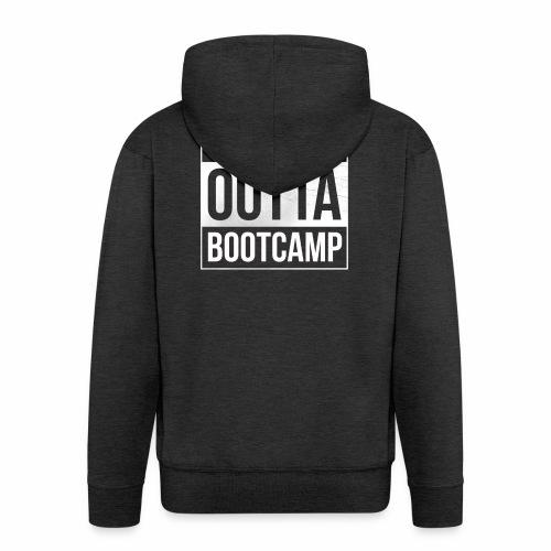 Suoraan Bootcampilta - Miesten premium vetoketjullinen huppari