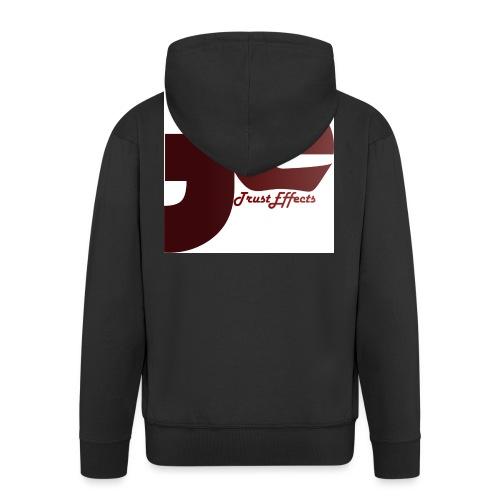 company logo - Men's Premium Hooded Jacket