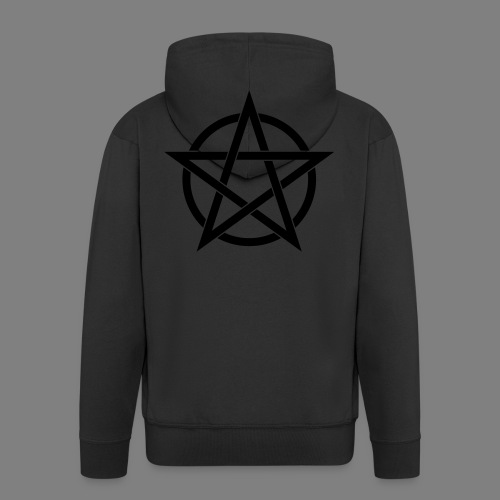 pentagramm - Männer Premium Kapuzenjacke