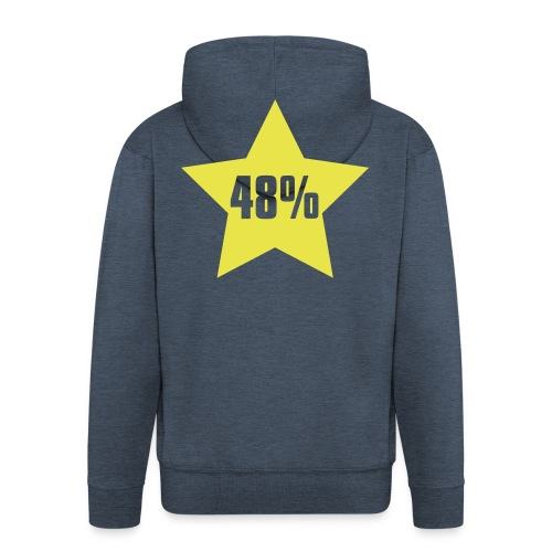 48% in Star - Men's Premium Hooded Jacket